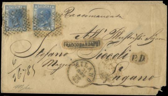 ITALIA REGNO 1867 - Regno d'It...