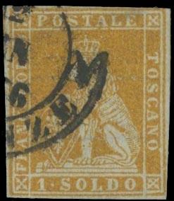 TOSCANA 1851 - Toscana: 1s bis...