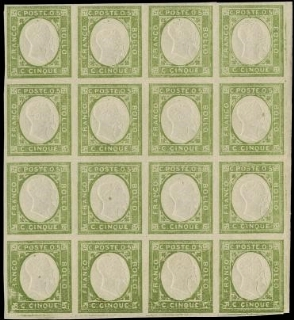PROVINCE NAPOLETANE 1861 - non emessi 1/3