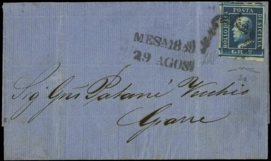 SICILIA 1859 - Sicilia: 2gr sh...