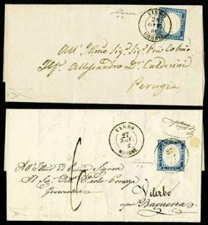 PONTIFICIO 1855 - Sardegna: du...