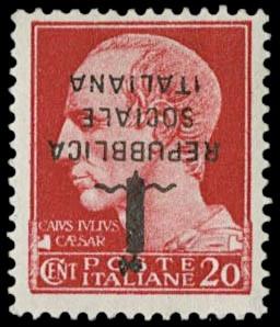 ITALIA REGNO 1944 - Repubblica...