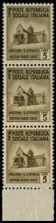 ITALIA REGNO 1944-1945 - Repub...