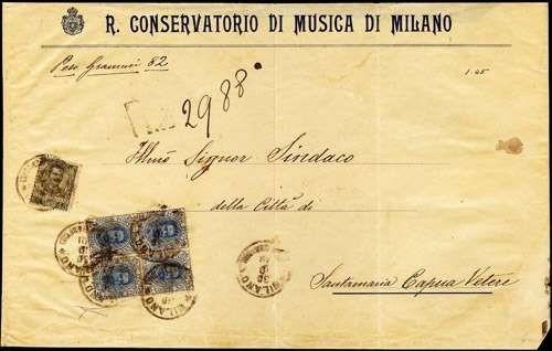 ITALIA REGNO 1891 - Regno d'It...