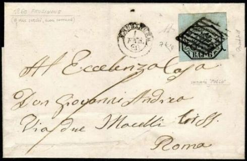 PONTIFICIO 1852 - 6 baj grigio verdastro