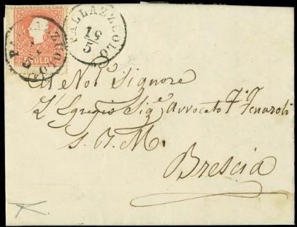 LOMBARDO VENETO 1858 - Lombard...