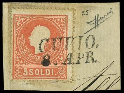 LOMBARDO VENETO 1858: Lombardo...
