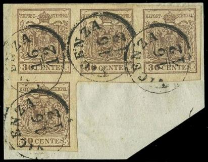 LOMBARDO VENETO 1850 - Lombard...